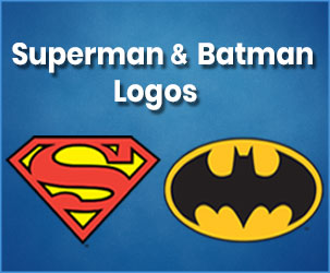 Free Online Resources for Superman and Batman Logos